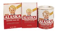 alaska powdered milk sizes