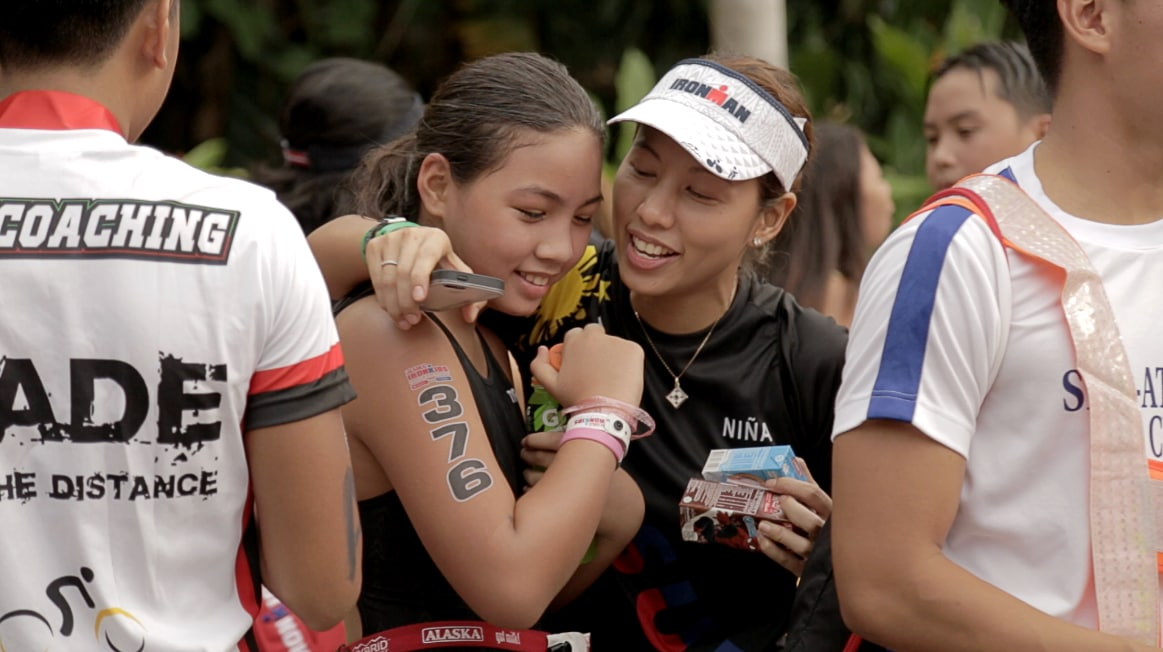 Family and friends came from near and far to show support for their IronKids.